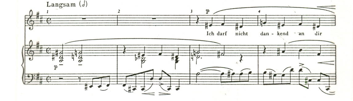 The Role Of Vagrant Harmonies In Selected Lieder By Wolf Strauss
