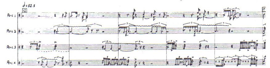 Notation in Elliott Carter's Double Concerto